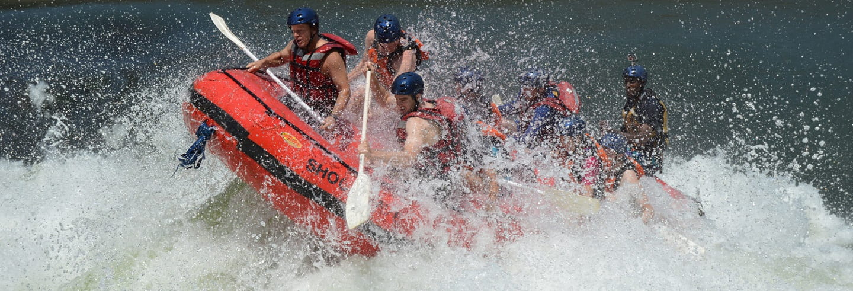 Rafting no rio Zambeze