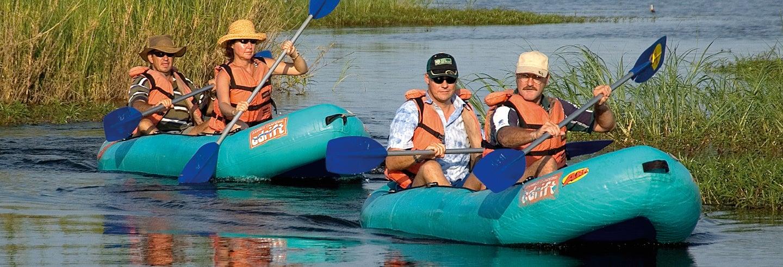 Tour en kayak por el río Zambezi