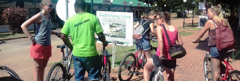Visite de Victoria Falls à vélo
